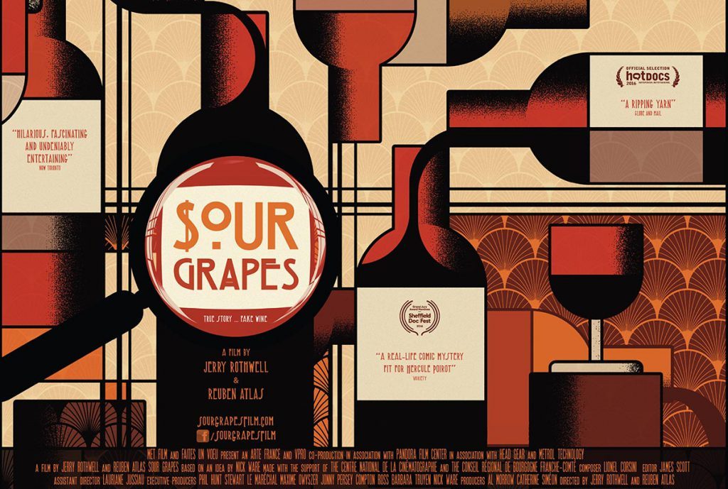 Sour grapes Poster