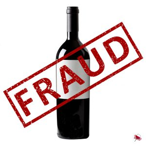 Fraud stamp bottle